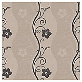 Arthouse Rhythm motif taupe wallpaper