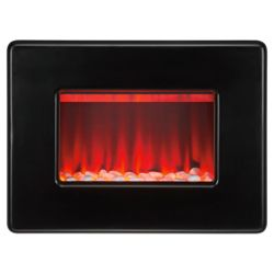 Valor Vivo Black Electric Fire