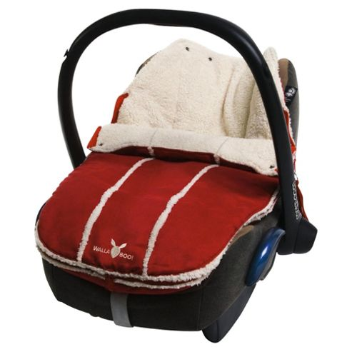 Wallaboo Newborn Footmuff, Red