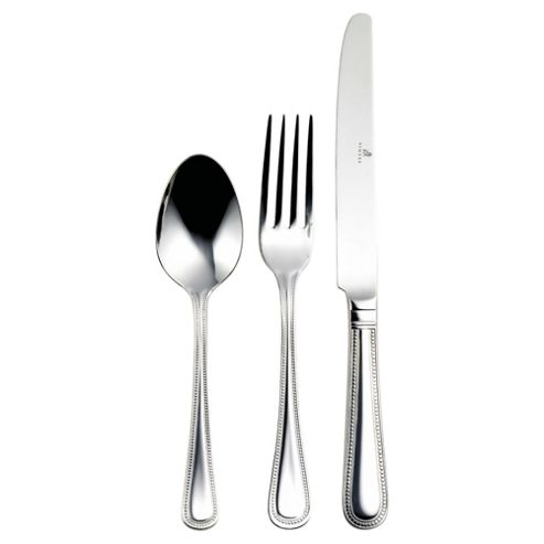 Viners Silver Bead 58 Piece, 8 Person Cutlery Set