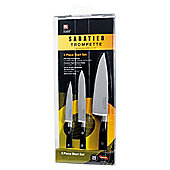 Sabatier 3 piece Trompette Knife Set