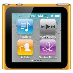 Apple MC526QB/A iPod Nano 16GB 6th Generation - Orange