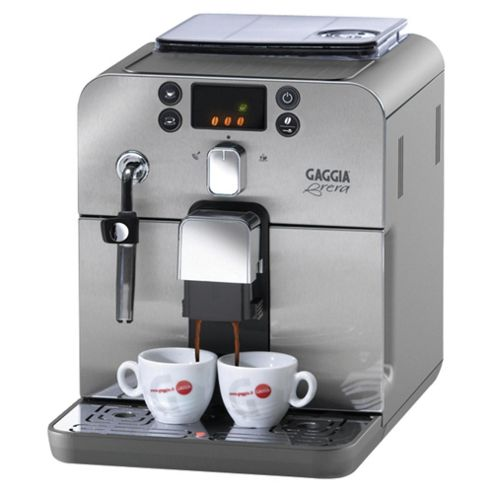 Gaggia RI9833 1.7 Brera Coffee Machine - Stainless Steel