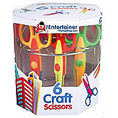 The Entertainer Scissors 6 Pack