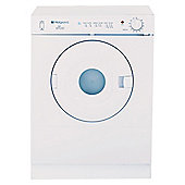 Hotpoint V3D01P Vented Tumble Dryer, 3kg Load, D Energy Rating. White