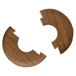 Westco real wood floor trim rosettes oak