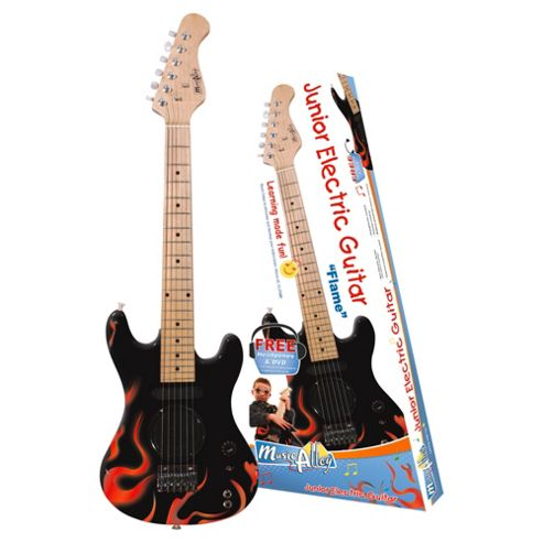 Technote Music Alley Junior Electric Guitar MA-101 Flame