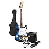 Rockburn Jaxcille Electric Guitar Skull
