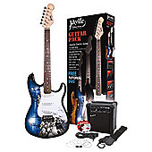 Jaxville Skulls Electric Guitar Pack