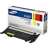 Samsung CLT-Y4072S/ELS Laser Toner Cartridge - Yellow