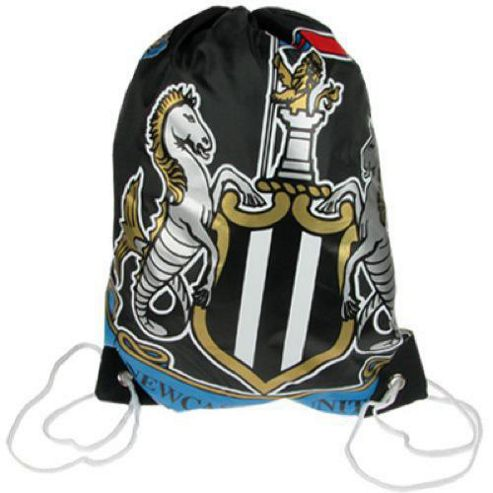 Absolute Footy Newcastle United F.C. Gym Bag Black