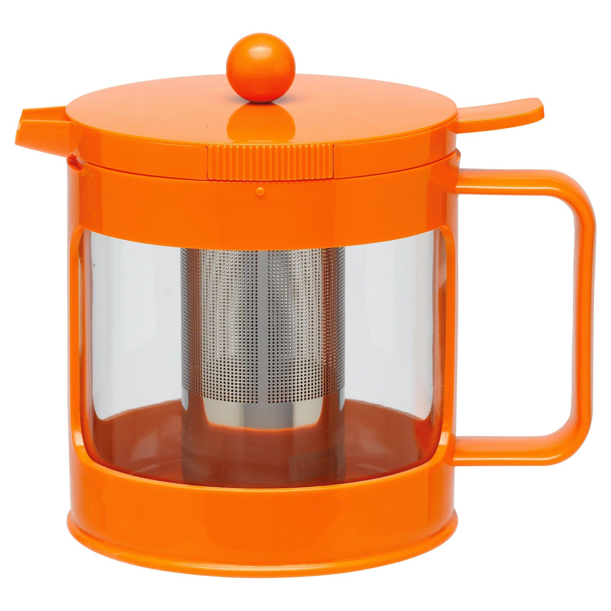 Bodum Bean Teapot, Orange