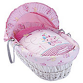 Clair de Lune Lottie & Squeek White Wicker Basket