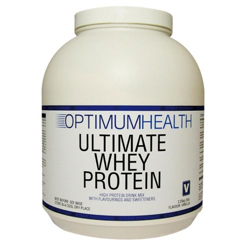Optimum Health Ultimate Whey Protein 2.25kg Strawberry