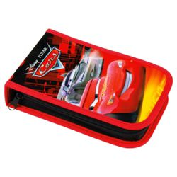 Disney Cars Clamshell Filled Pencil Case