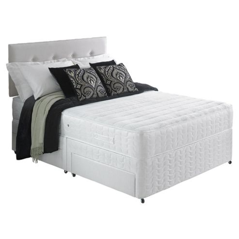 Buy Silentnight Miracoil 7 Zone Memory Breathe Washington 4 Drawer Divan Bed From Our All
