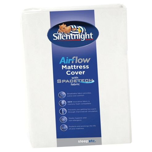 Silentnight Spacetech Airflow Mattress Cover, Single
