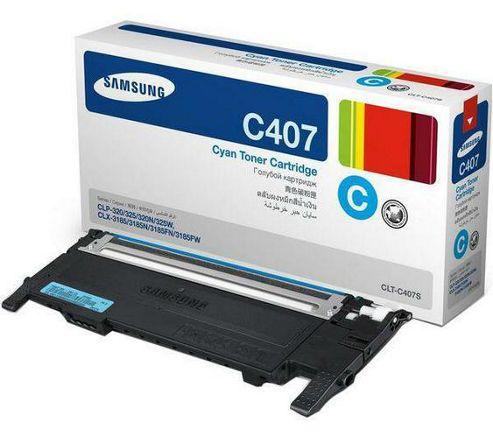 Samsung CLT-C4072S/ELS Laser Toner Cartridge - Cyan