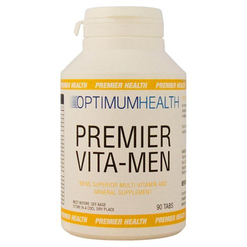 Optimum Health Premier Vita Men 90 Tabs
