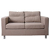 Leader Lifestyle Star 2 Seater Sofa - Mink Brown Fabric
