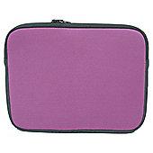 Technika Pink neoprene skin - For up to 10.2 inch laptops/netbooks