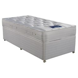Nestledown Triple Zoned Single Divan Bed Non Storage Divan Bed