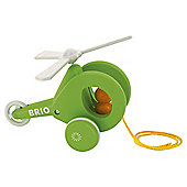 Brio Pull Along Helicopter, wooden toy