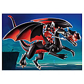 Playmobil Giant Red Dragon with Led Fire