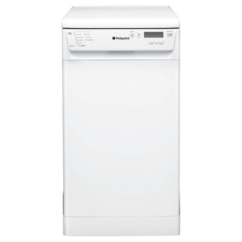 Hotpoint SDD910P Slimline Dishwasher, A Energy Rating, White