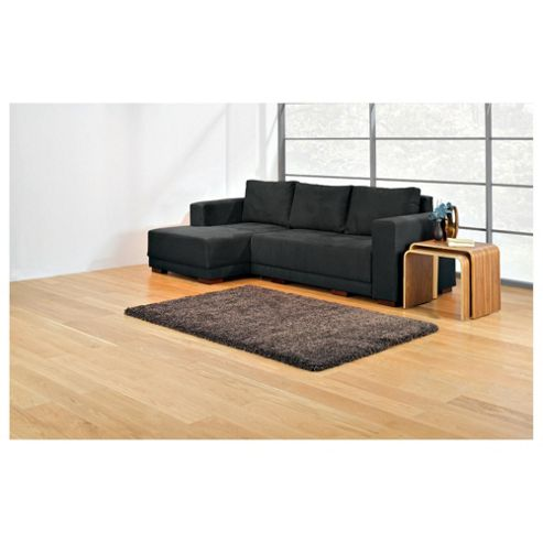 Grant Fabric Chaise Sofa Bed Left Hand Facing, Graphite