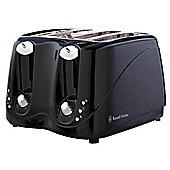 Russell Hobbs 143140 4 Slice Toaster - Black