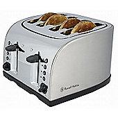 Russell Hobbs 18210 Texas 4 Slice Toaster - Stainless Steel