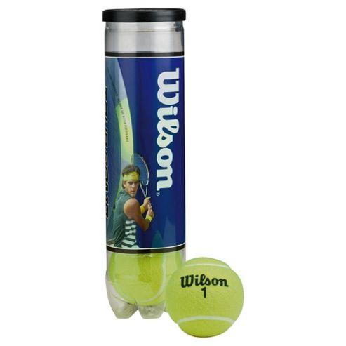 Wilson Team Practice Tennis Balls 4pk