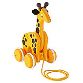 Brio Pull Along Giraffe, wooden toy