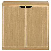 Seattle Kids 2 Door Storage Unit, Oak-effect