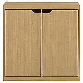 Seattle Kids 2 Door Storage Unit, Oak-effect