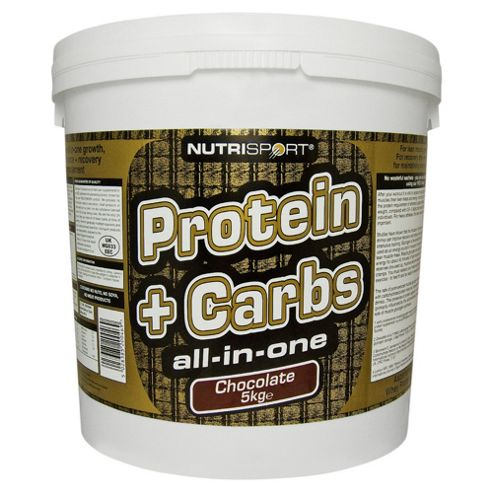 Nutrisport Protein + Complex Carbs 5kg Vanilla