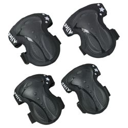 Allez Knee Pads black & white