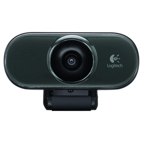 Logitech C210 1.3MP VGA Webcam with Microphone