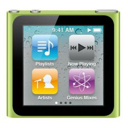 Apple MC525QB/A iPod Nano 8GB 6th Generation - Green