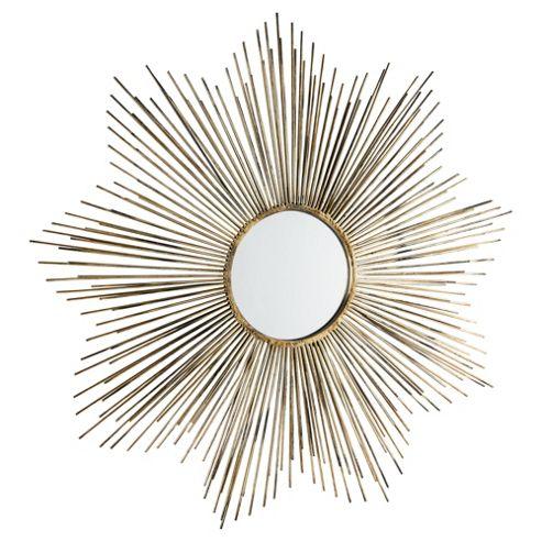 Morning Light Mirror Antique Gold Dia. 79cm