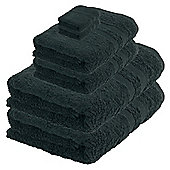 Tesco Towel Bale Black, Plain