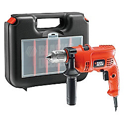 Black & Decker 500W Corded Percussion Hammer Drill KR504CRESK