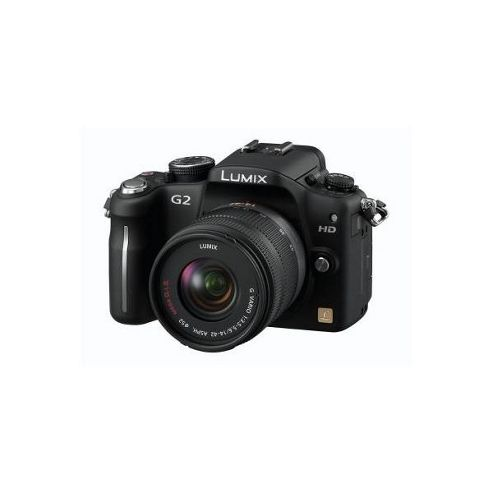 Panasonic Lumix G2 12.1MP Compact System Camera Kit - Black (incl 14-42mm Lens Kit)