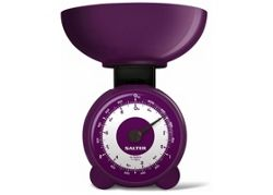 Salter Orb Mechanical Scale Plum