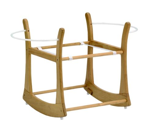 East Coast Antique Rocking Moses Basket Stand