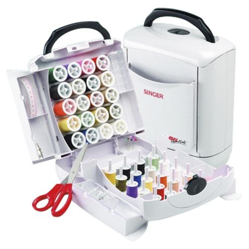 Singer Handy Chest for Sewing - White