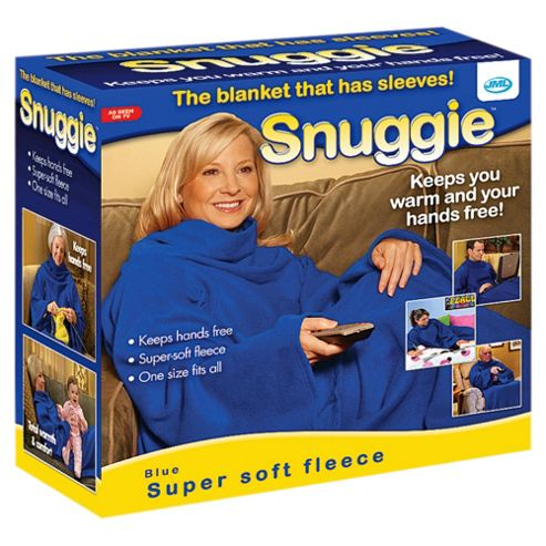 JML Snuggie Blanket, Blue