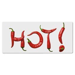 Creative Tops Hot Chilli Glass Hob Cover