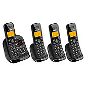 Binatone Symphony 3325 cordless Telephone - Set of 4